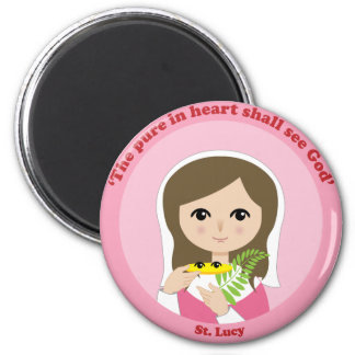 St. Lucy Refrigerator Magnets