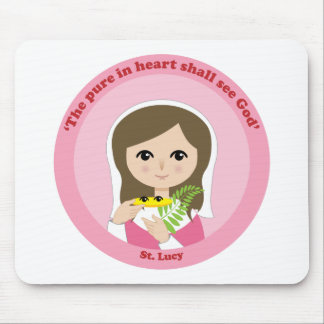 St. Lucy Mouse Pad