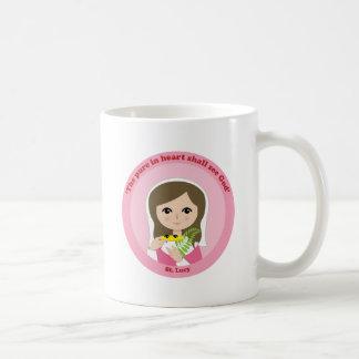 St. Lucy Classic White Coffee Mug