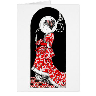 St. Lucy of Syracuse Notecard