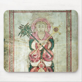 St. Luke and his winged calf Mouse Pad