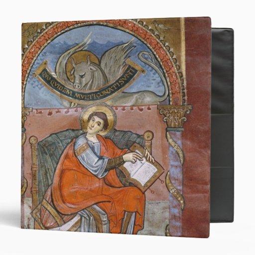 St Luke, del evangelio de St. Riquier