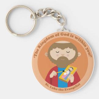 St Luke el evangelista Llavero