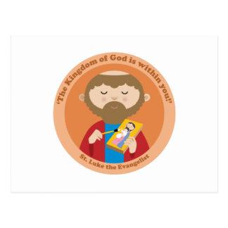 St Luke el evangelista Postal