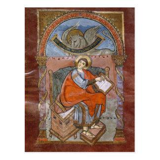 St. Luke, from the Gospel of St. Riquier Postcard