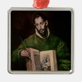 St. Luke Metal Ornament