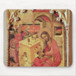 St. Luke Operating on a Man's Head, c.1400-30 Mouse Pad