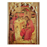 St. Luke Operating on a Man's Head, c.1400-30 Postcard