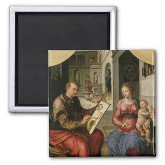 St. Luke Painting the Virgin, c.1545 Magnet