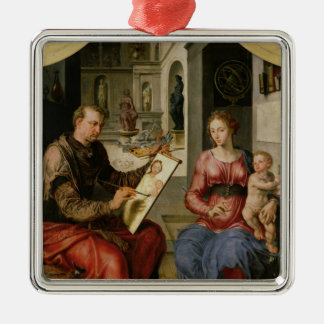 St. Luke Painting the Virgin, c.1545 Metal Ornament