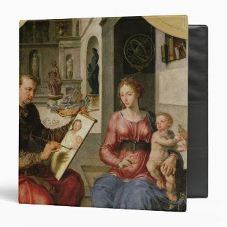 "St Luke que pinta a la Virgen, c.1545 Carpeta 1 1/2"""