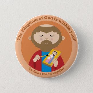 St. Luke the Evangelist Pinback Button