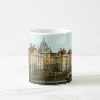 St. Luke's Hospital, New York City, 1910 Vintage Coffee Mug