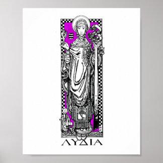 St. Lydia Purpuraria Print
