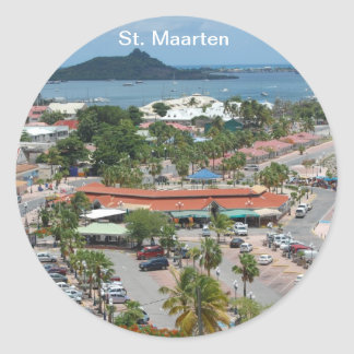 St Maarten - bahía de Marigot Etiquetas