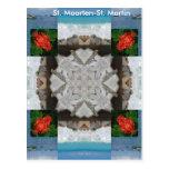 St. Maarten - caleidoscopio de San Martín Postales
