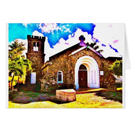 St. Maarten Church Card