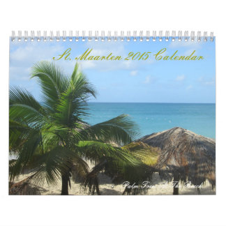 St. Maarten Custom Printed Calendar