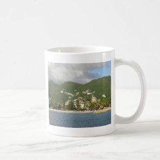 St. Maarten de la bahía de Simpson Tazas De Café