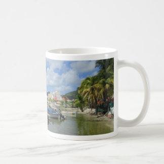 St. Maarten del puerto de Philipsburg Tazas De Café