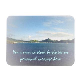 St. Maarten Harbor Custom Premium Magnet