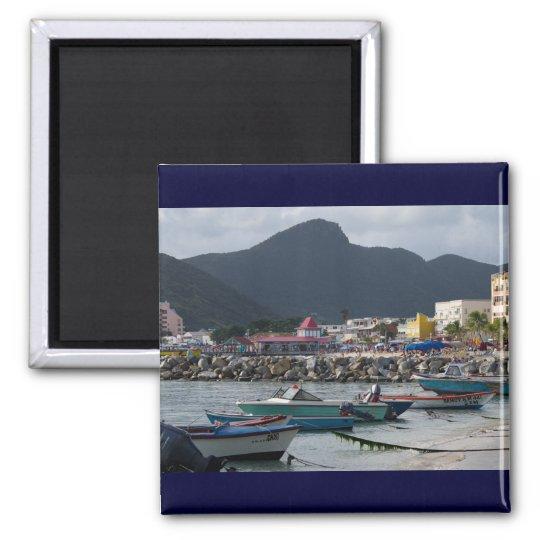 St. Maarten Harborside Magnet