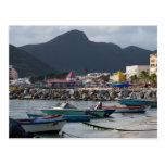 St. Maarten Harborside Post Card