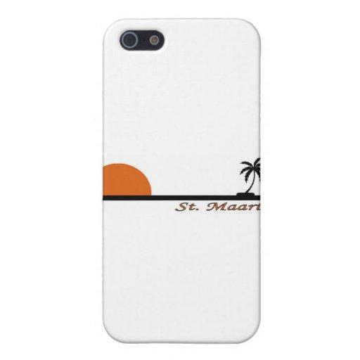 St. Maarten iPhone 5 Carcasas