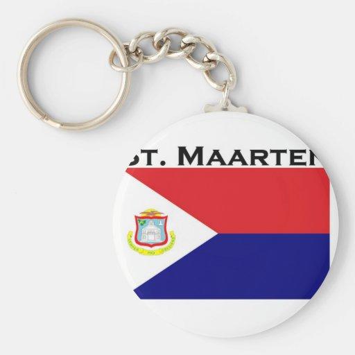St. Maarten Llaveros Personalizados