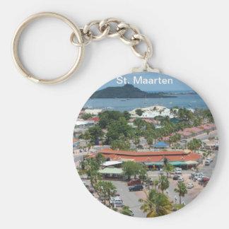 St. Maarten - Marigot Bay Keychain