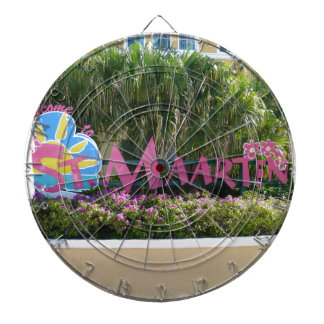 St. Maarten Sign Dart Board