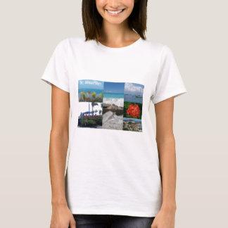 St. Maarten-Sint Martin Photography Collage T-Shirt