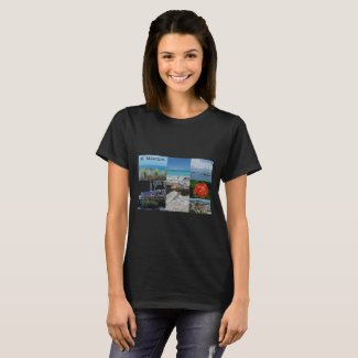 St. Maarten-Sint Martin Photography Collage T-Shirt