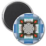 St. Maarten - St. Martin Kaleidoscope Magnet