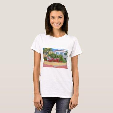 Beach Themed St. Maarten, Welcome sign, photography, Dutch T-Shirt