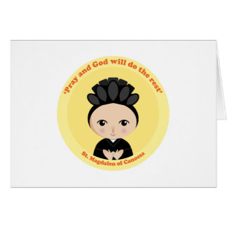St. Magdalen Canossa Greeting Card