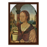 St. Magdalena By Massys Quentin (Best Quality) Greeting Cards