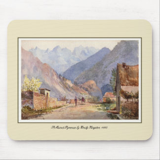St Mainet,Pyrenees Mouse Pad