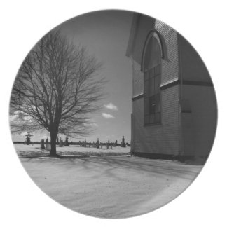 St. Malachy's Church Melamine Plate