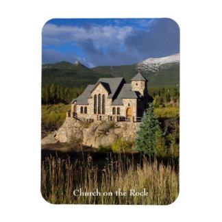St Malo Chapel Colorado Magnet