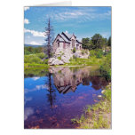 St. Malo Church - Chapel on the Rock I Greeting Card