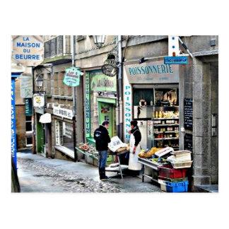 St Malo Postcard