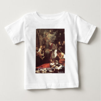 St Marcarius Love/Knowledge Quote Gifts & Cards Baby T-Shirt