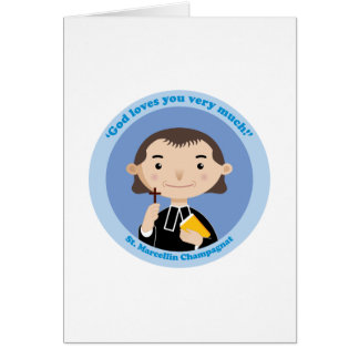 St. Marcellin Champagnat Greeting Card