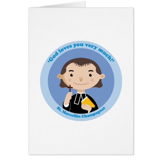 St. Marcellin Champagnat Card