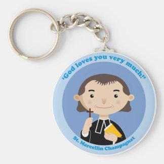 St. Marcellin Champagnat Basic Round Button Keychain
