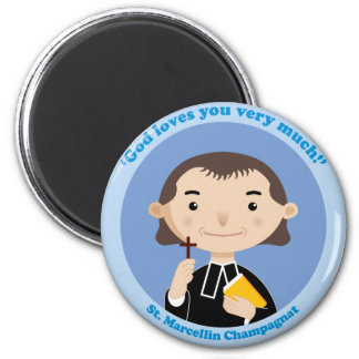 St. Marcellin Champagnat 2 Inch Round Magnet
