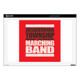 """ST_Marching.jpg 17"""" Laptop Decal"""