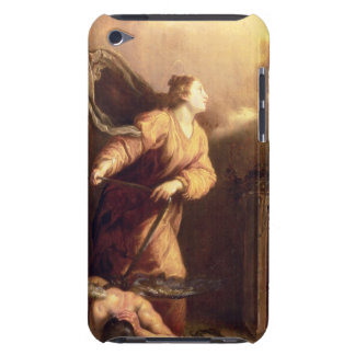 St. Margaret beside the vanquished Devil (panel) iPod Touch Cases
