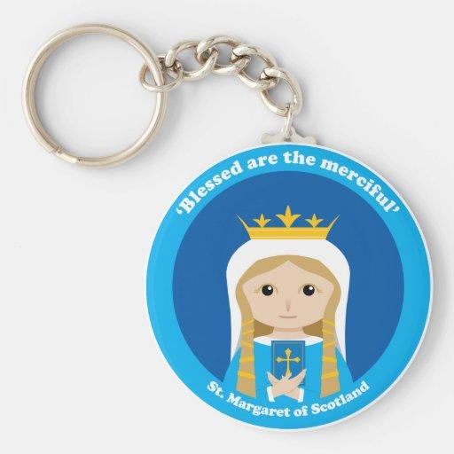 St Margaret de Escocia Llavero Personalizado